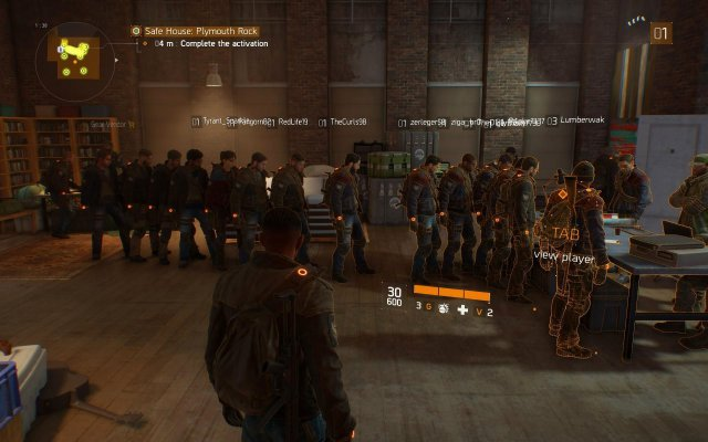 The Division - Chat Commands