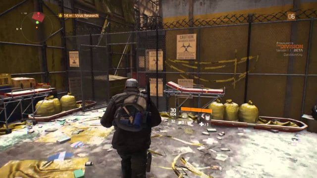 The Division - Virus Scanner Locations
