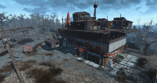 Fallout 4 - Unlimited Build Size