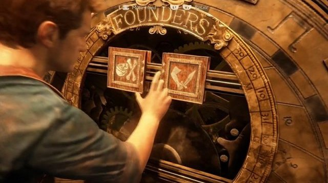 Uncharted 4: A Thief's End - The Founders Puzzle (Chapter 11)