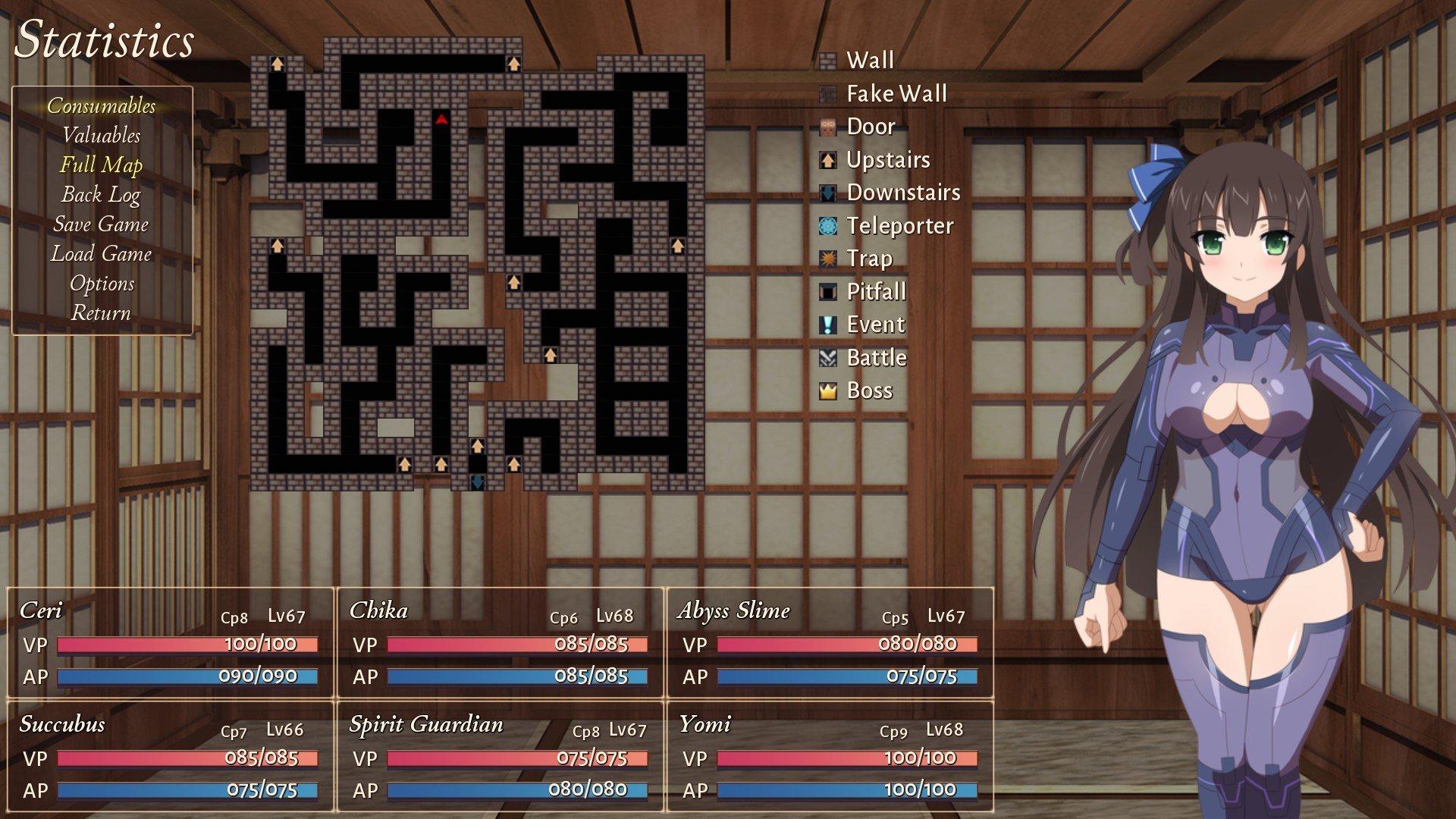 Sakura Dungeon - All Dungeon Maps on