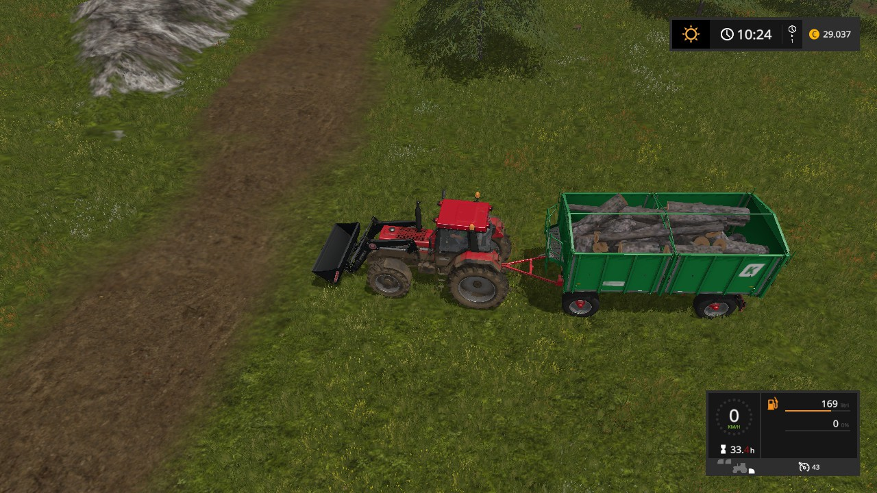 Farming Simulator 17 - How to Produce Wood Chips