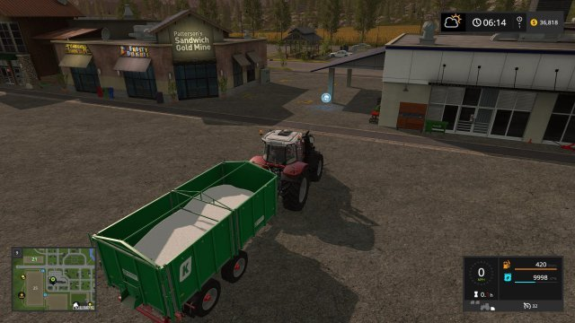 Farming Simulator 17 -  How to Transport Large Amounts of Fertilizer and Seed in Bulk