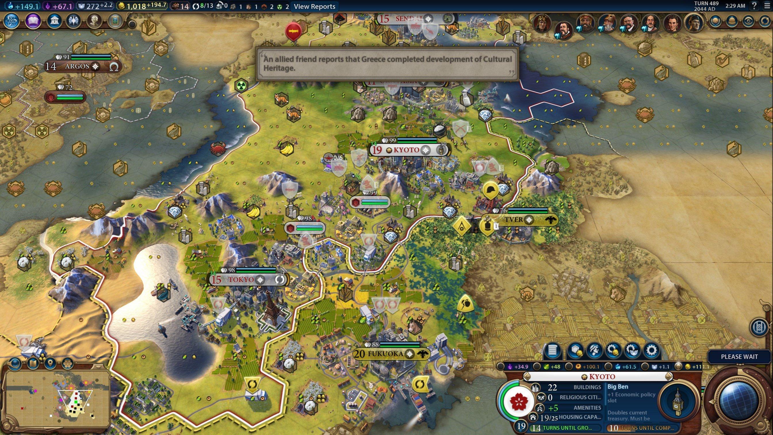 Civilization VI - Diplomacy & Alliances