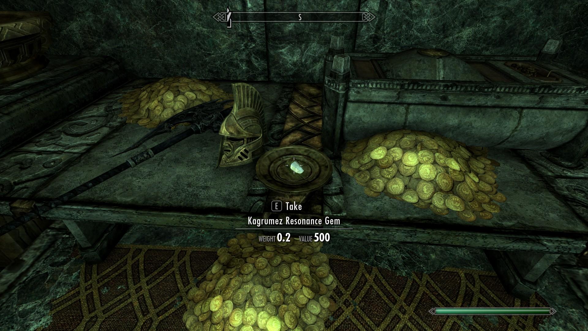 The Elder Scrolls V: Skyrim - Resonance Gem Locations