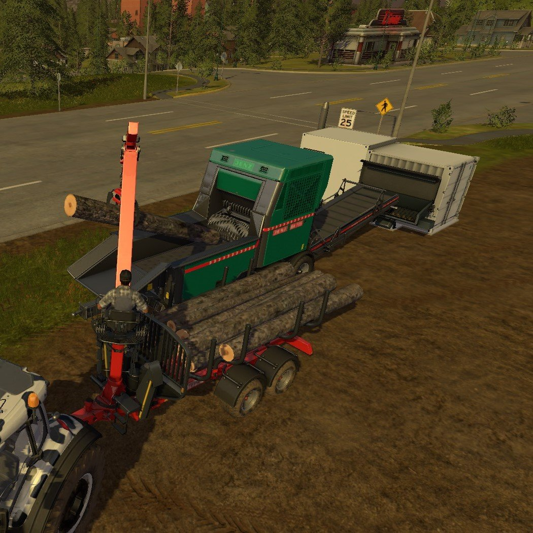 Farming Simulator 17 - Logging and Selling Points