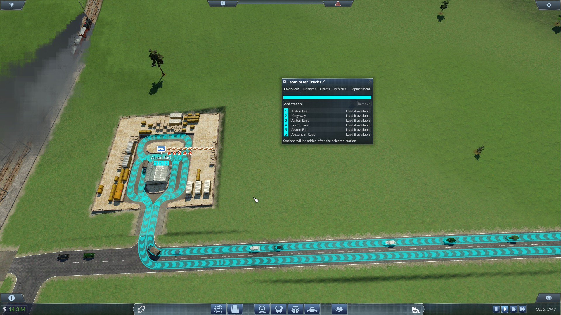 Transport Fever Double And Triple Buffering Lines