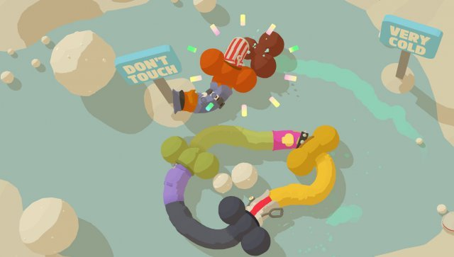Genital Jousting - Online Game about Flaccid Penises and Wiggly Anuses