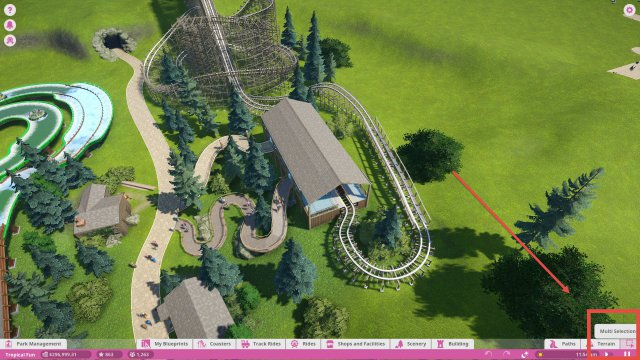 Planet Coaster - Adding a Station to a Coaster Blueprint