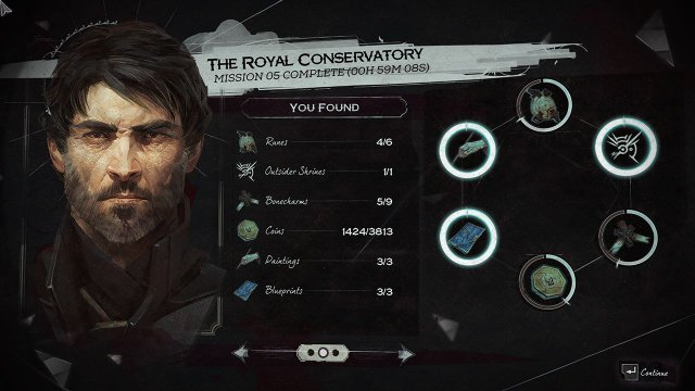 Dishonored 2 - All Blueprint Locations