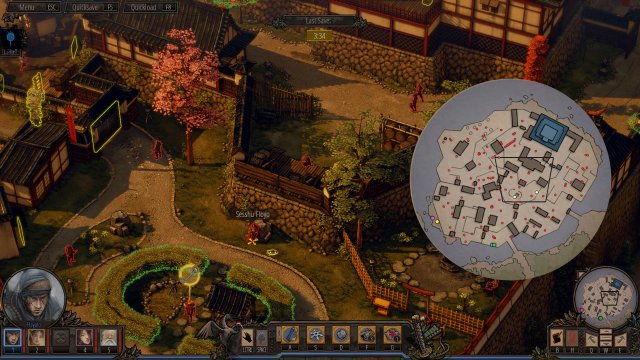 Shadow Tactics: Blades of the Shogun - Mimimi Achievement (All Developers Locations)