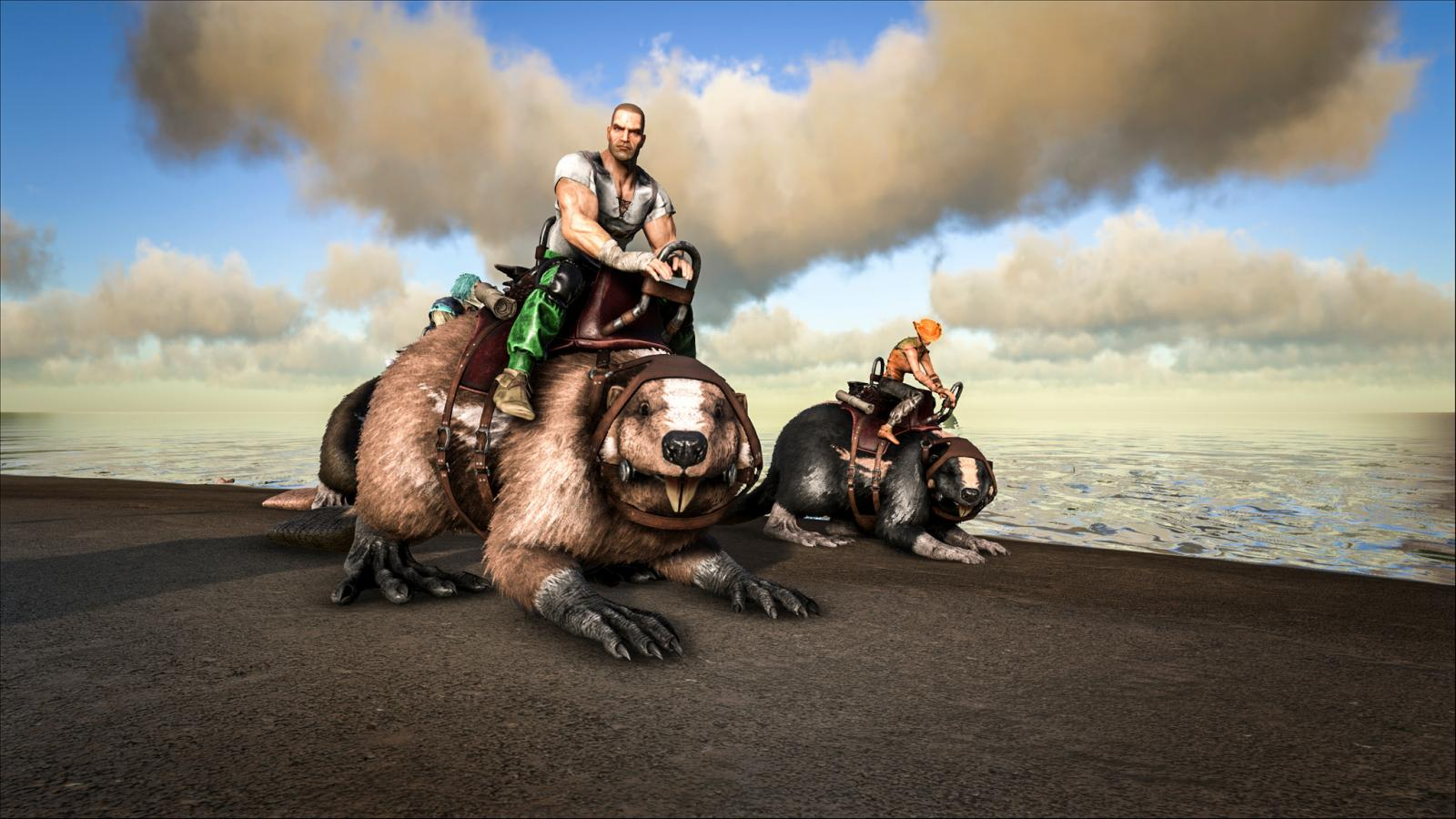 ark survival evolved how to find beaver dams