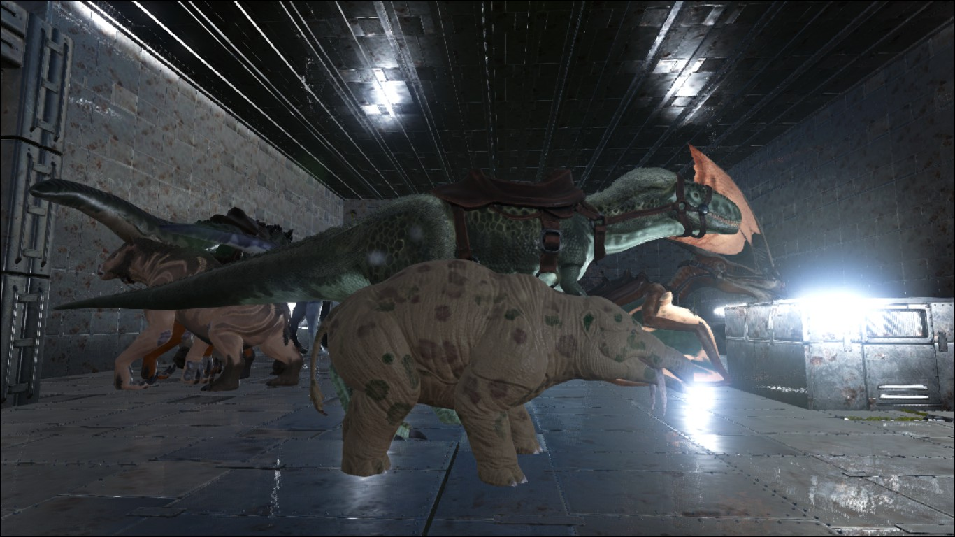 ARK: Survival Evolved - All About Megalosaurus (The Night Predator)