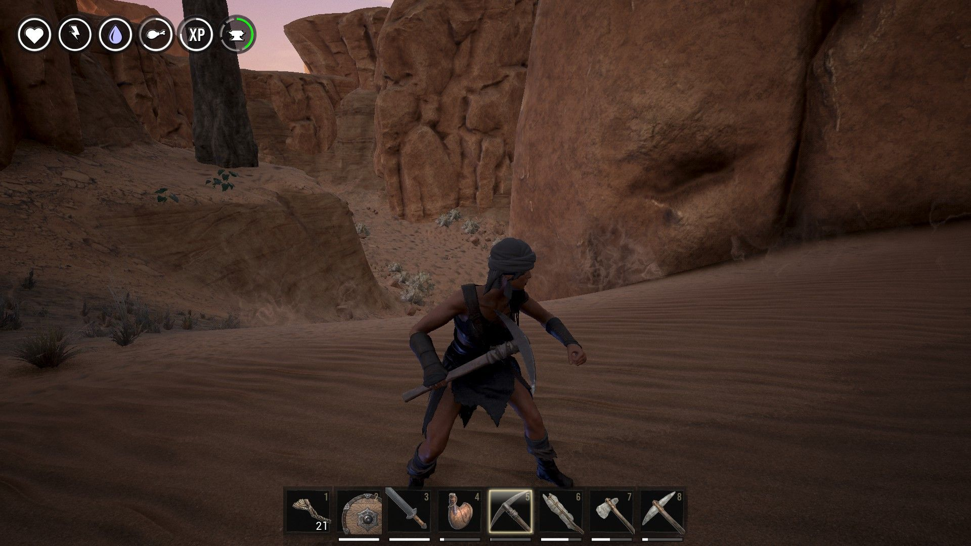 how to create thick leather in conan exiles