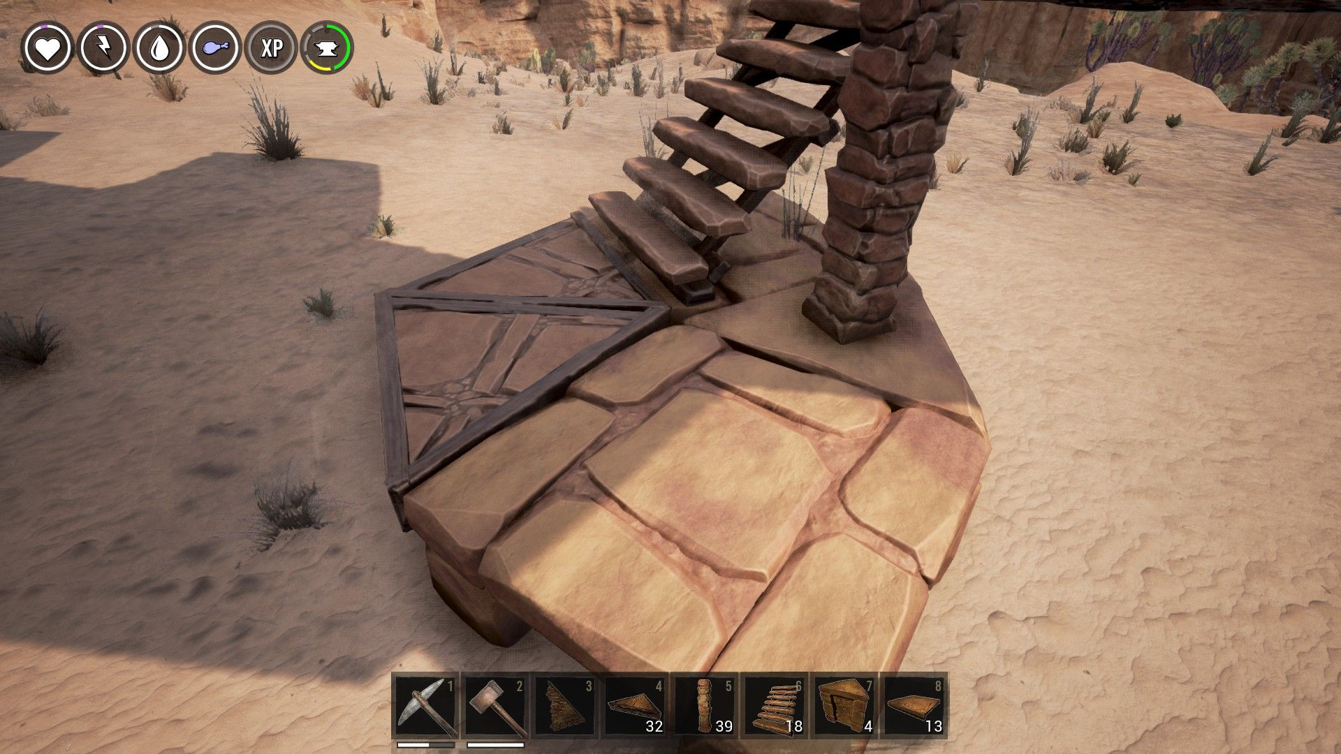 Conan Exiles Circles And Spiral Stairs