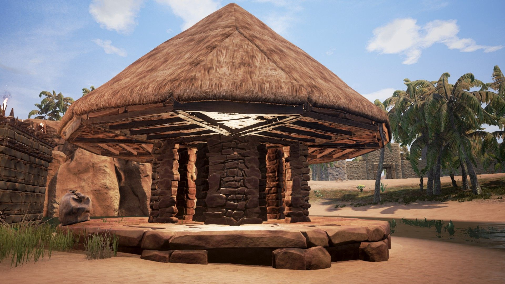 Conan Exiles How To Build The Roofs
