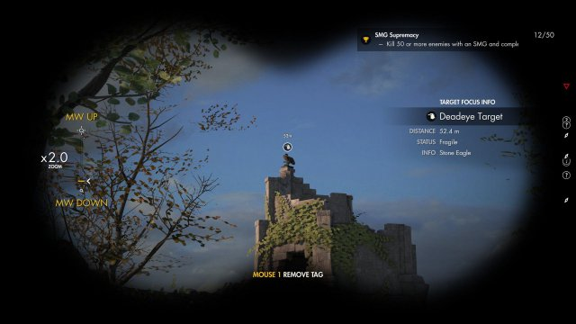 Sniper Elite 4 - All Stone Eagle Locations - Deadeye Targets (A Bird in Hand Achievement)