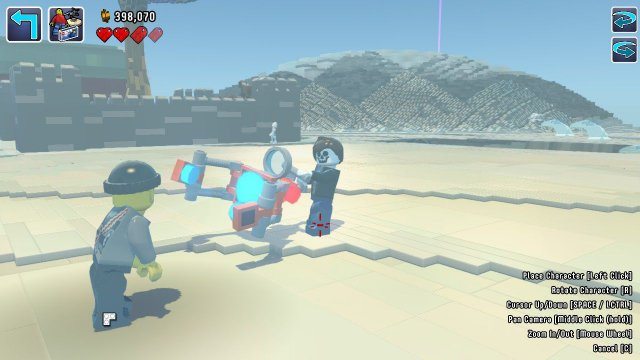 LEGO Worlds - How to Spawn Unlocked Characters