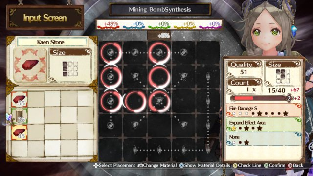 Atelier Firis - Synthesis Guide: Activating Item Properties