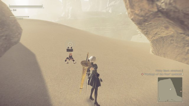 NieR: Automata - Heritage of the Past (Relic Locations)