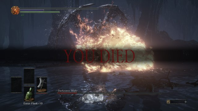 Dark Souls 3 - Where to Find and How to Defeat Darkeater Midir (Boss Guide)
