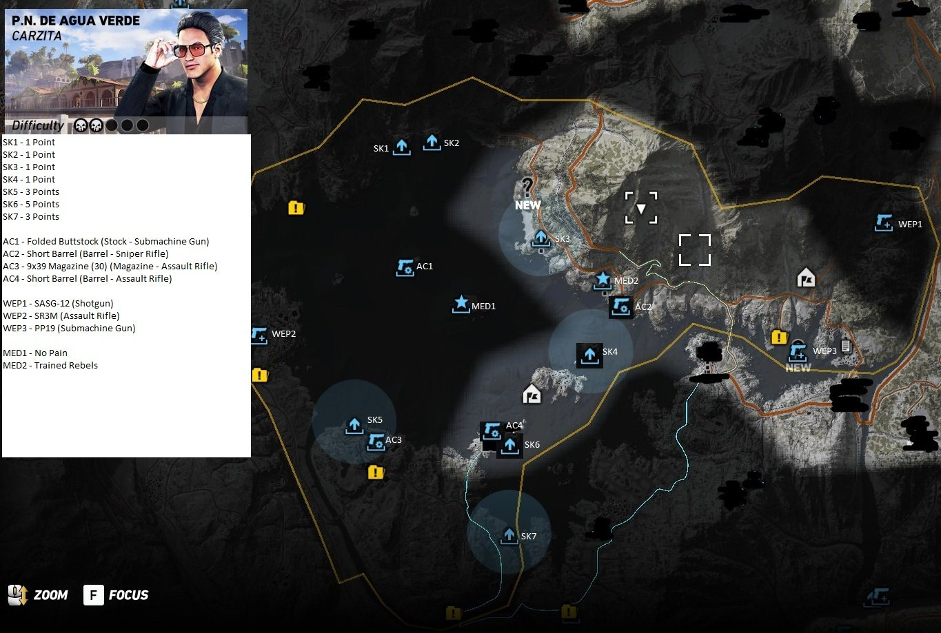 Ghost Recon Wildlands Weapons Accessories Medals And