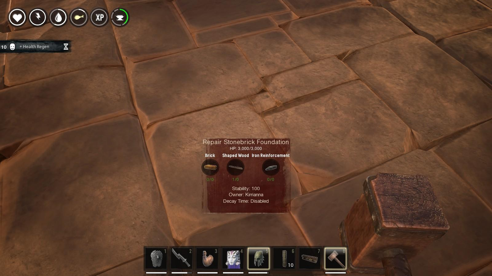 how to turn the damage down on conan exiles