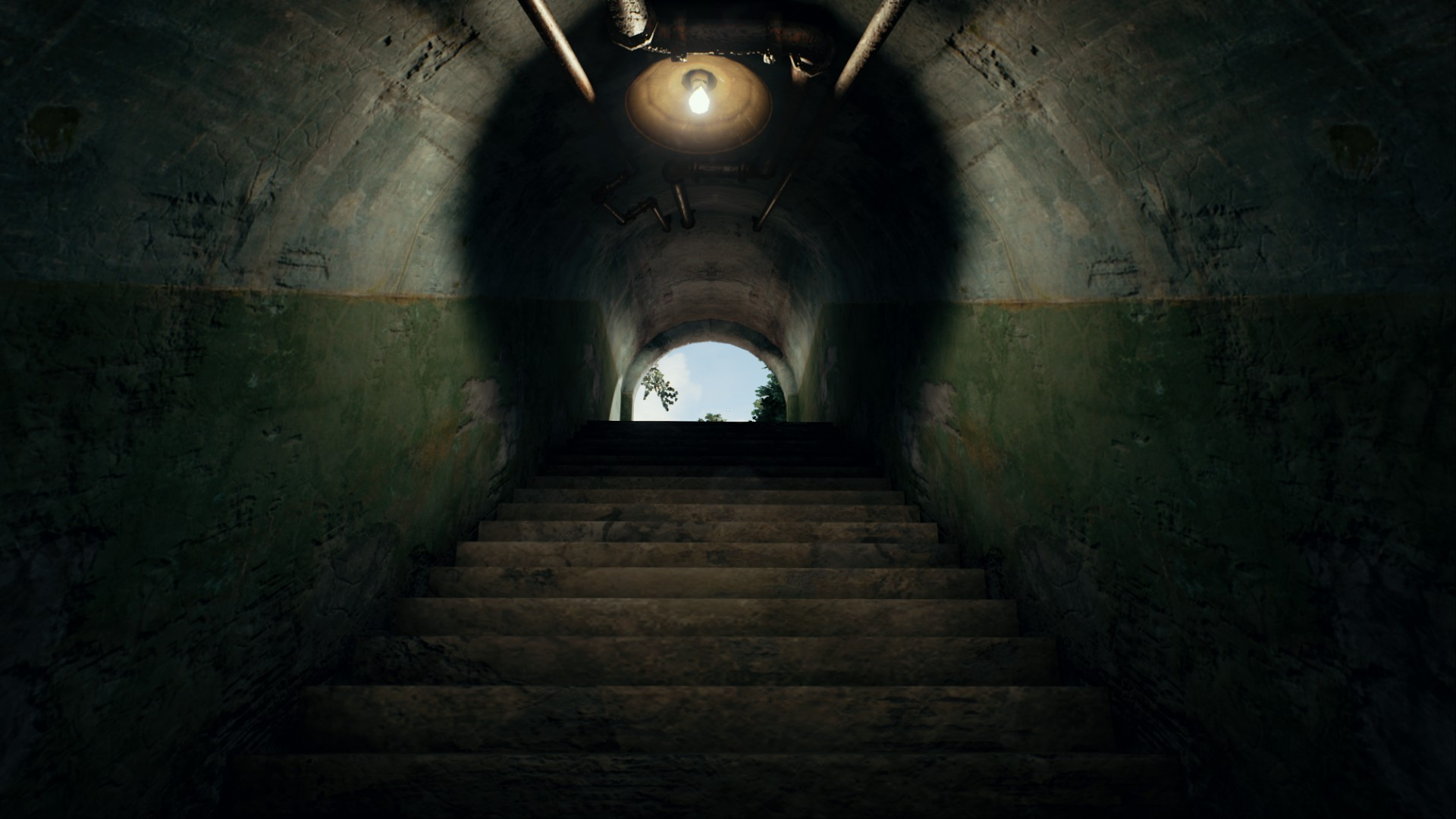 Pubg Hd Best Wallpaper: Bunker Tunnel System Map