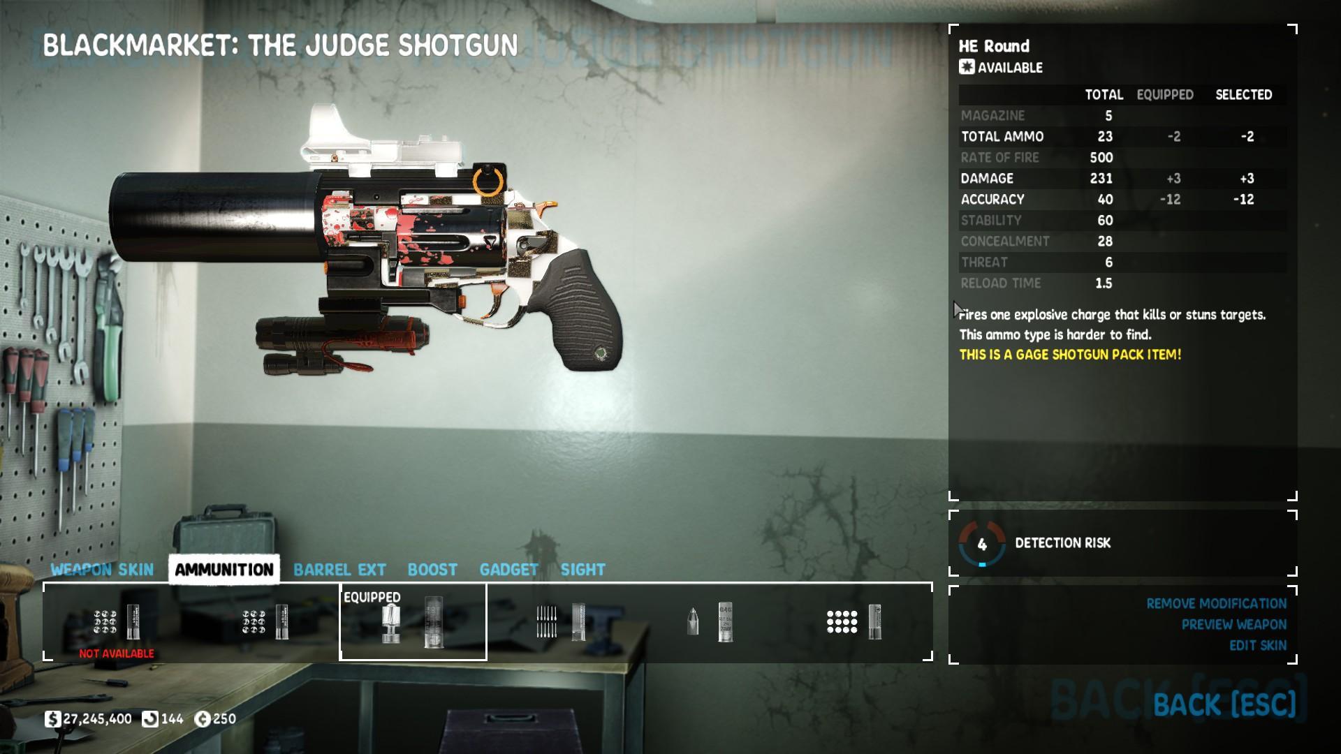 PAYDAY 2 - Shotgun Build