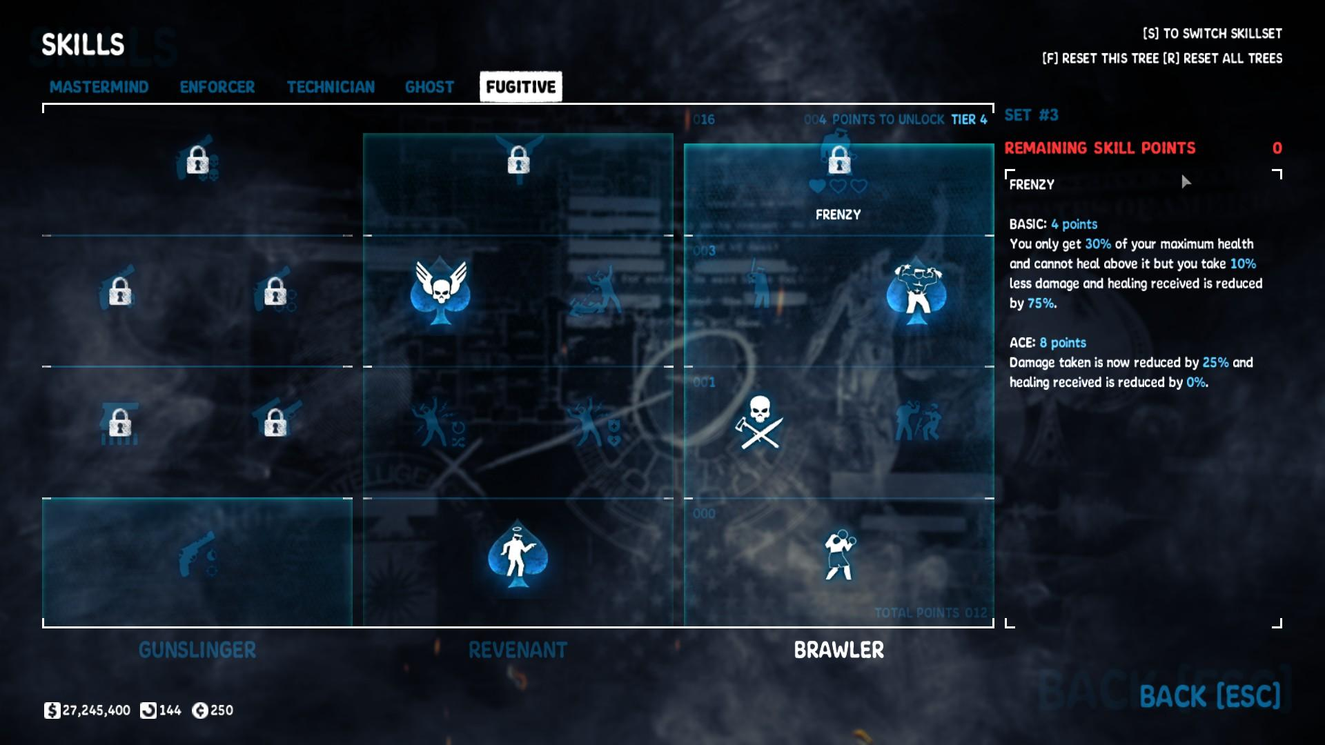 Shotgun Armor Build Payday