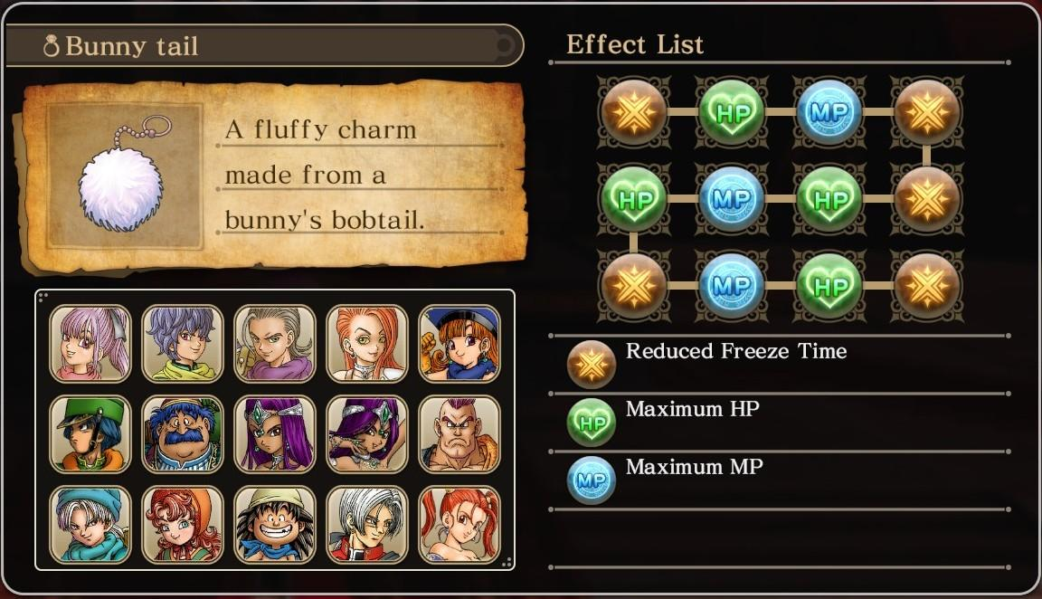 Dragon Quest Heroes  Allure Ring