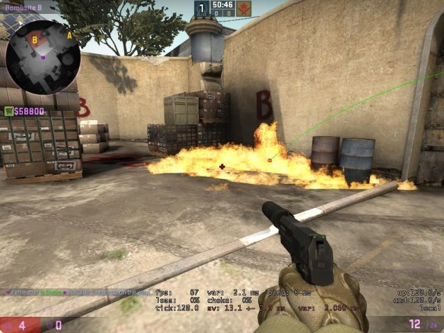 Counter-Strike: Global Offensive - How to Safely Molotov All Bombsite Positions (DUST 2)