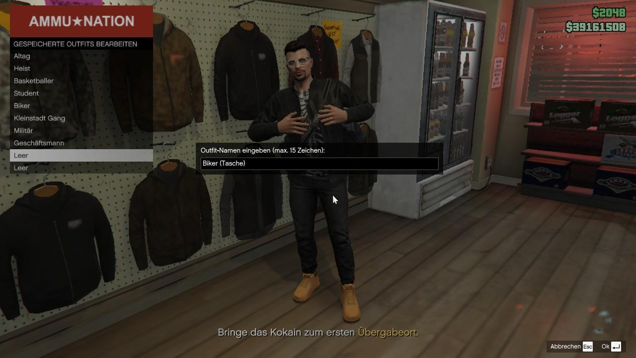 GTA 5 - How to Add a Bag to Your Outfit
