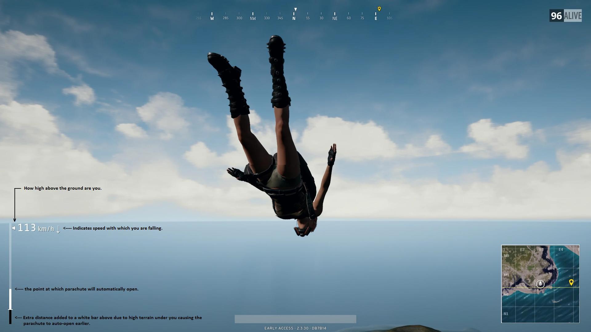 Pubg All About Parachuting