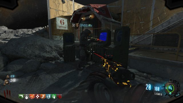 Call Of Duty Black Ops Zombies Moon Map on