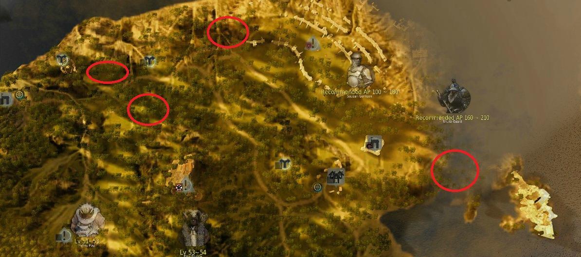 Black desert online horse spots 6 black desert online gumiabroncs Gallery