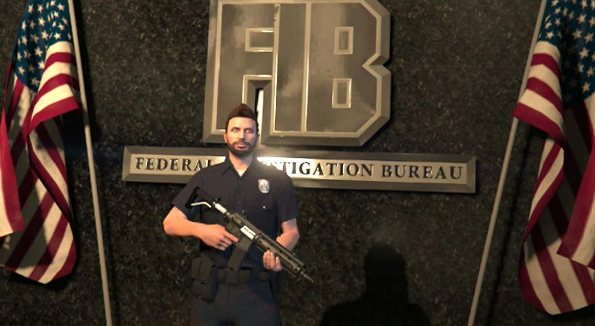 Gta 5 How To Get In To The Fib Building Freemode