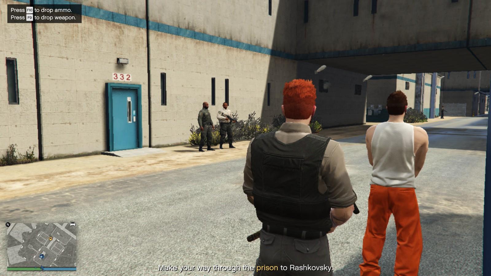 Gta 5 How To Get A Kuruma Into The Prison Prison Break Heist Finale