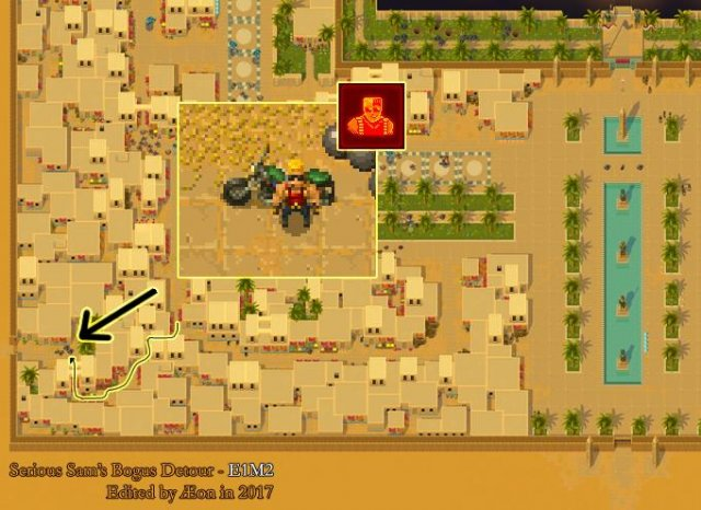Serious Sam's Bogus Detour - How to Get the Duke Nukem and Mr. Buttersworth Achievements
