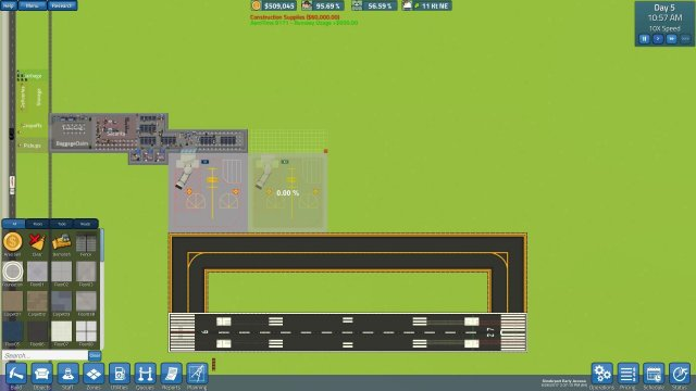 SimAirport - How to Make a Profitable Airport (Making Money)