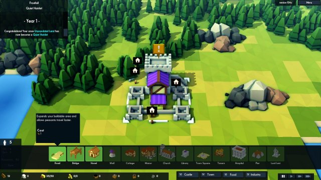 Kingdoms and Castles - Quick Start