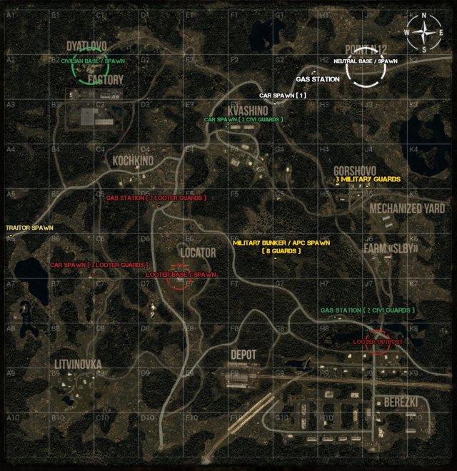Next Day: Survival - Survival Map