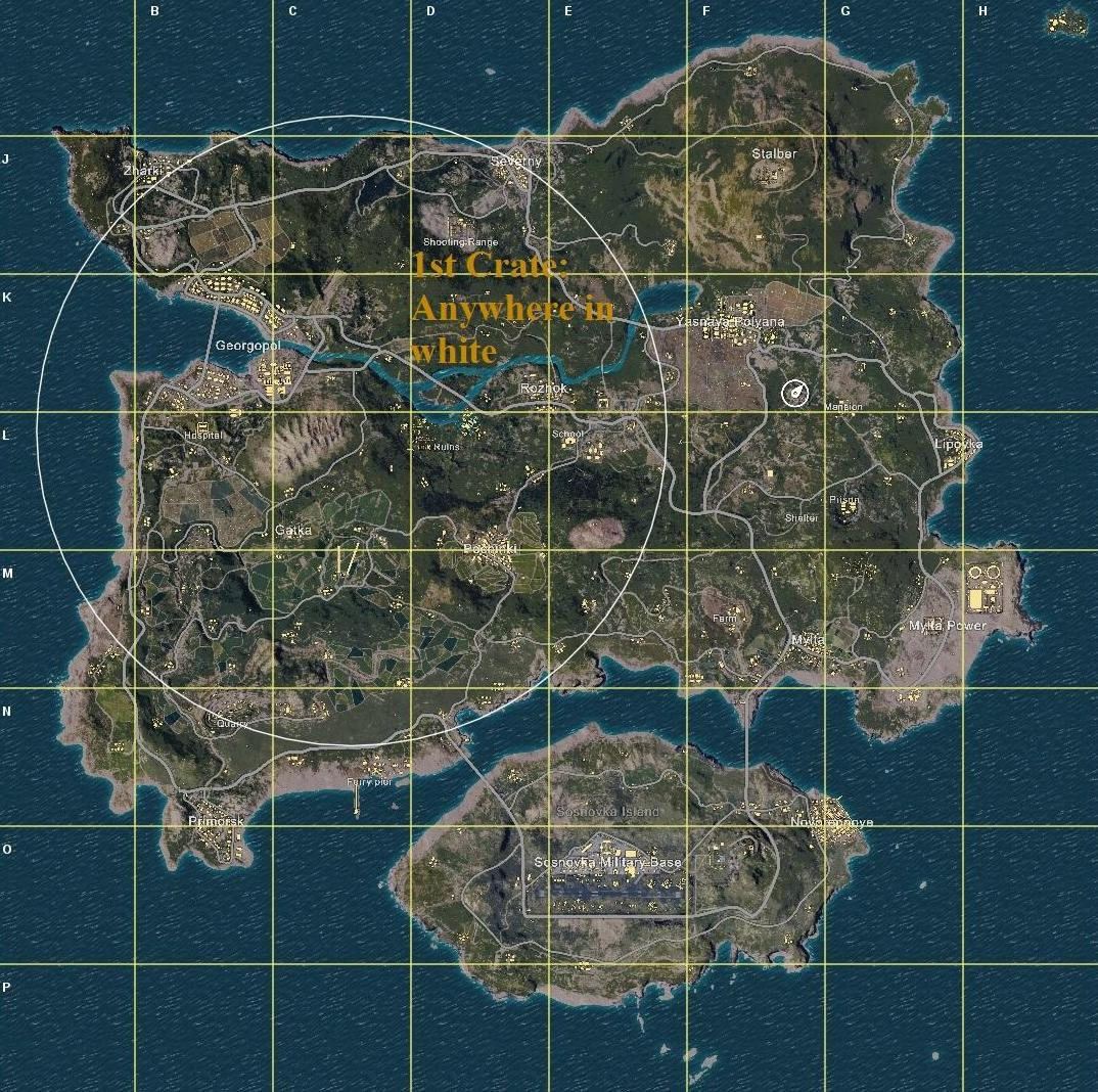 Image Result For Pubg Airdrop Full Guide Gameplay Tips