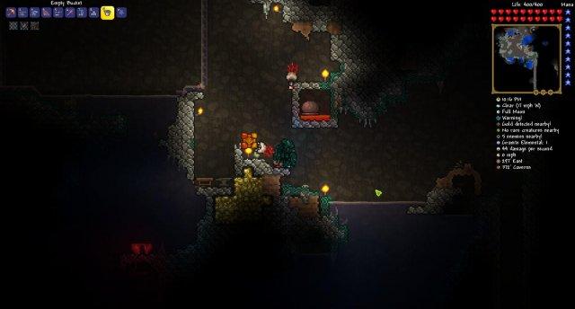 how to make a spear trap in terraria ios