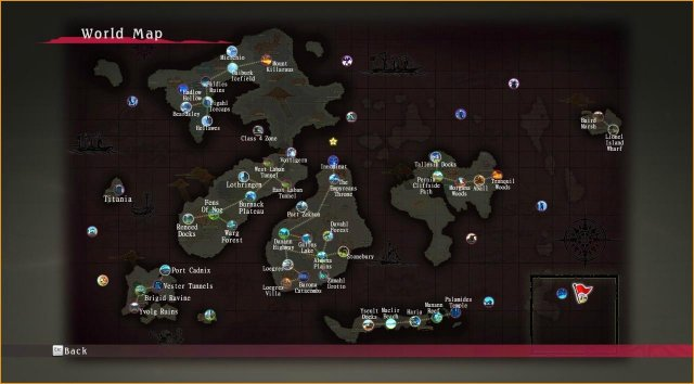 Tales of Berseria - World Map