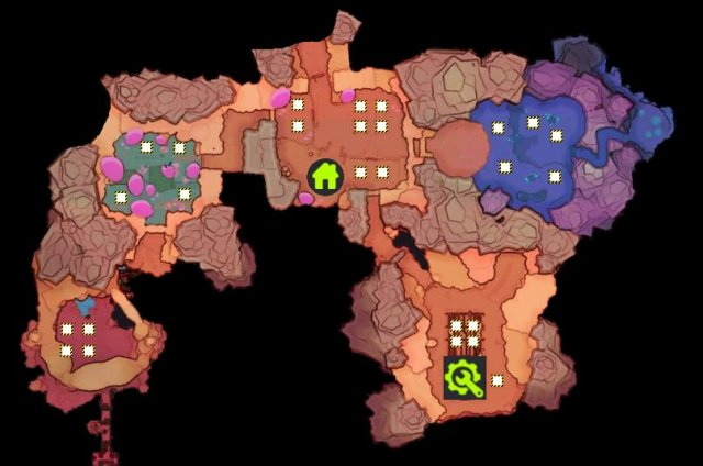 Slime Rancher - Reworked Ranch Map for Building Set-up