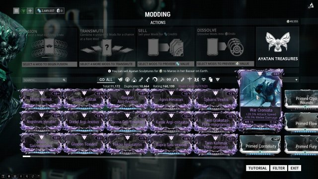 Warframe - The Riven Trading Guide