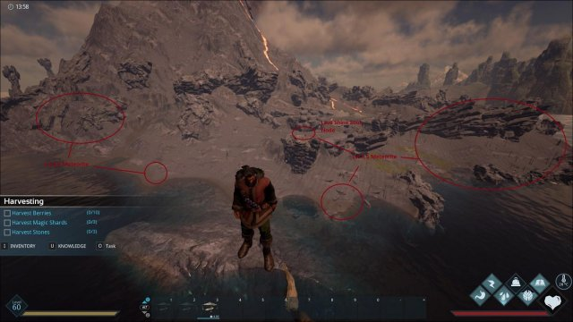 Dark and Light - Meteorite Drops and Looting