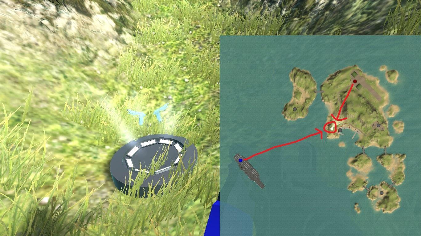Ravenfield - Secret Weapon Locations