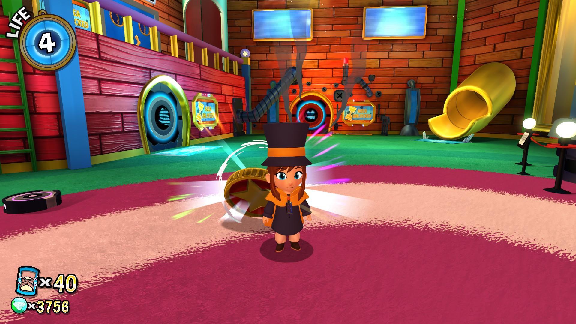 Resultado de imagem para a hat in time gameplay
